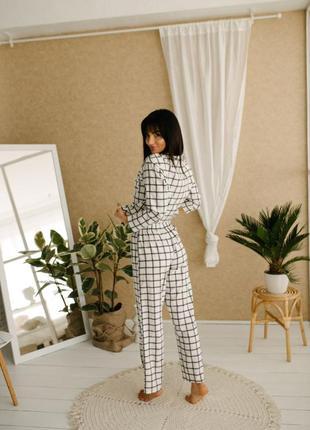 Пижама рубашка и штаны вискоза