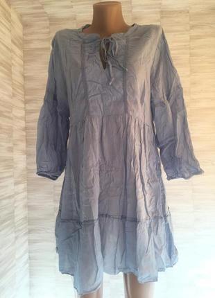 Платье летнее с воланами guna