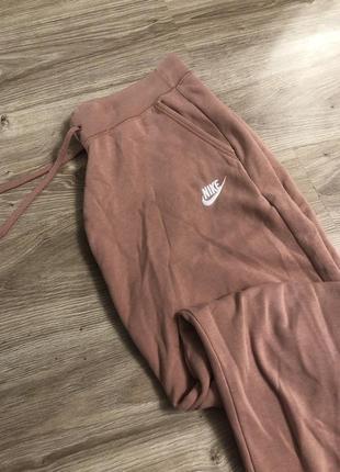 Спортивные штаны спортивки найк женские nike джоггеры на манжетах