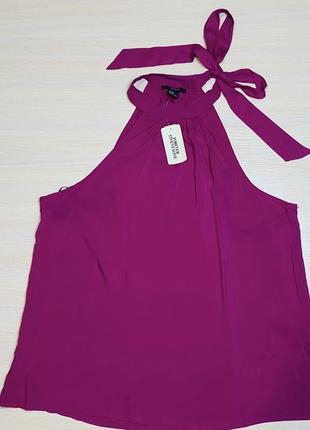 Фуксия блуза летняя