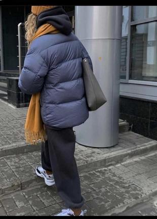 Куртка пуфер зимняя пуховик