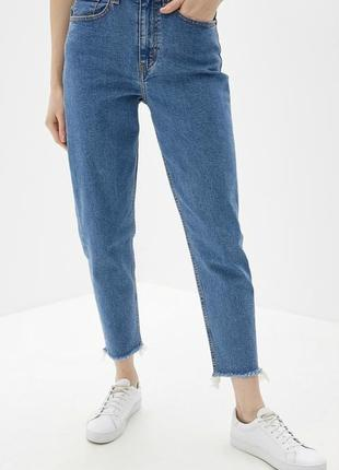 Женские mom jeans tally weijl мом момы на высокой посадке плотные