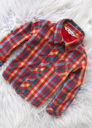 Качественная рубашка с длинным рукавом john lewis