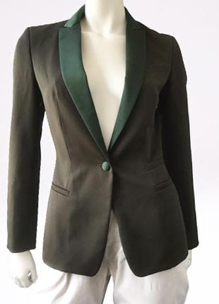 Красивый шерстяной (100%) пиджак  бренда dondup, италия