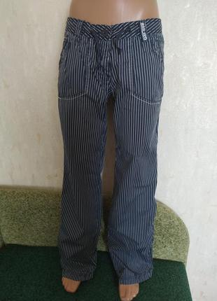 Брюки штаны летние в полоску termit
