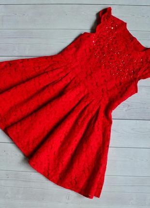 Нарядное платье george 5-6 лет 110-116см