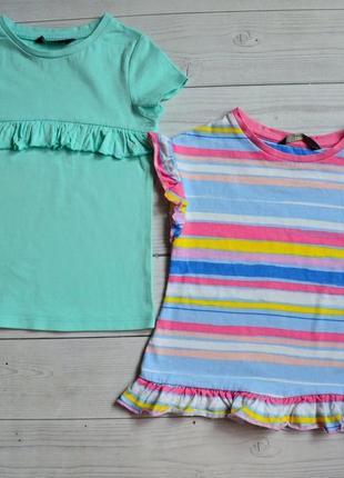 Набор коттоновых футболок george 4-5 лет