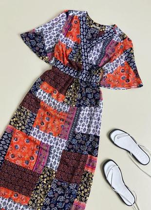 Сукня максі  з натуральної тканини tu