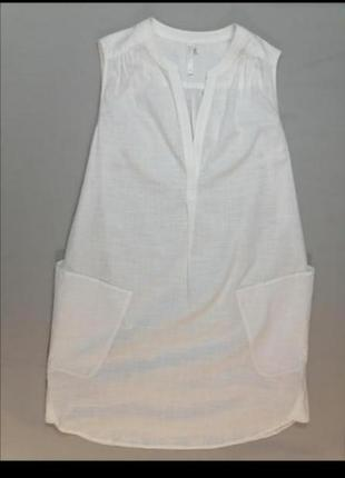 🍒 белое платье хлопок