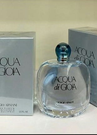 Женская парфюмированная вода giorgio armani acqua di gioia 100 мл