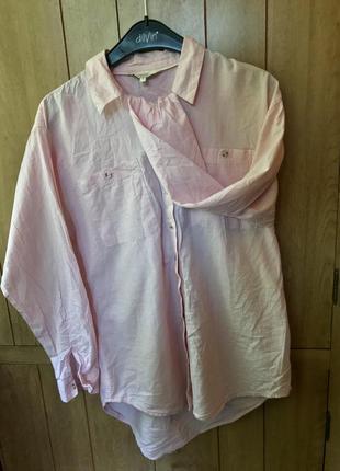 Розовая рубашка