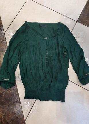 Блузка блуза вечерняя нарядная три четверти рукав