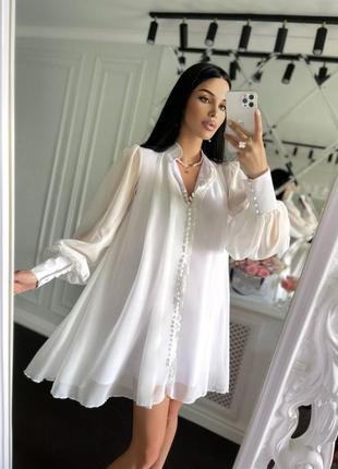 """Нежнейшее платье выполнено из невесомого шифона❤ платье """"доминикана""""💛🧡💜"""