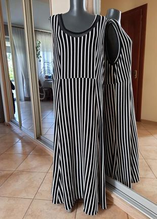 Эффектное вискозное платье 👗большого размера