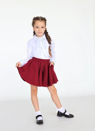 Юбка-шорты, школьная форма, рост 122-164 в наличии