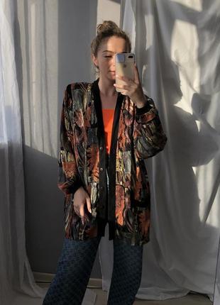 Жакет пиджак накидка