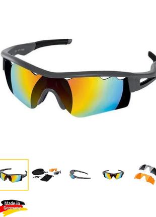 Спортивные очки для вело спорта, солнцезащитные очки crivit германия