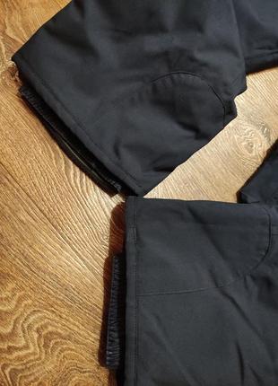 Штаны теплые дутики лыжные7 фото