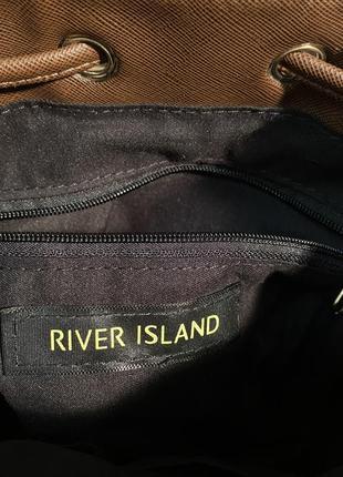 Сумка ведро бочка river island5 фото