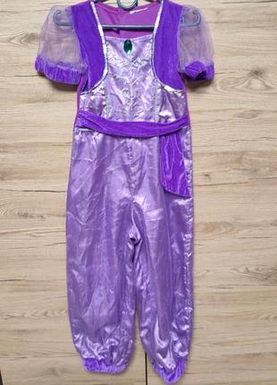 Детский костюм шаймер и шайн, для танцев живота, жасмин на 5-6, 7 лет