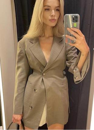 Сукня піджак zara. платье пиджак zara