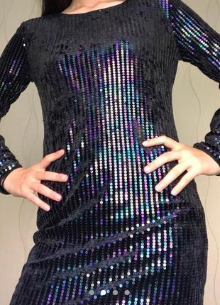 Платье/вечернее/коктейльное/для беременных/сукня/в пайетках/блестящее