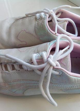 Эксклюзивные гламурные кроссовки pumacat оригинал натуральный замш