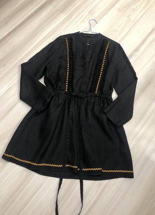 Плаття 100% льон