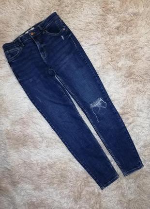 Фирменные джинсы стрейч штаны брюки