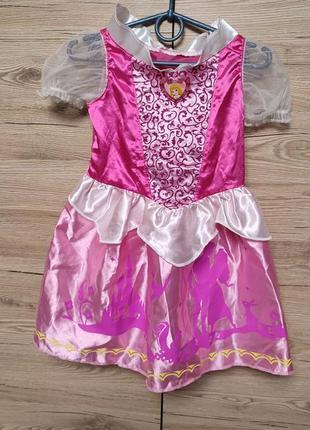 Детский костюм, платье принцесса, софия, аврора, бель, бэль на 3-4 года