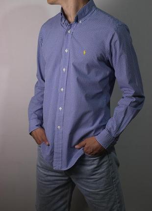 Рубашка ralph lauren оазмер м