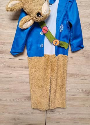 Детский костюм кролик питер, заец, зайчик на 3-4 года