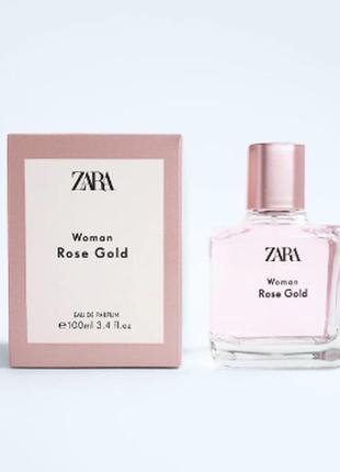 Парфюмерная вода zara woman rose gold 100 мл (3,4 fl. oz).