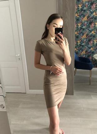 Платье трикотаж chic
