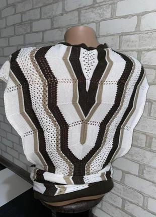 Модная вязаная кофта  оригинал mexx производитель турция