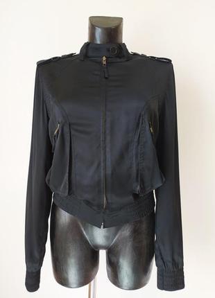 Легкая куртка karen millen оригинал, 100% шёлк
