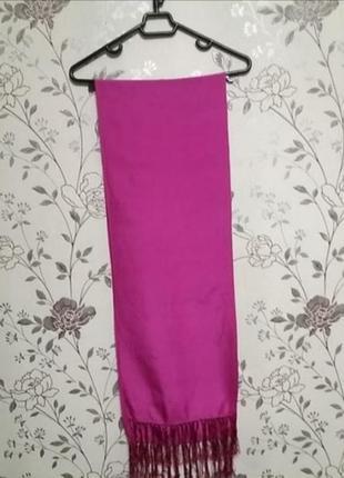 Фуксия! шёлковый шарф от sergio