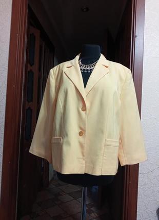 Пиджак,новый,батал, 7 xl,  ц.220 гр
