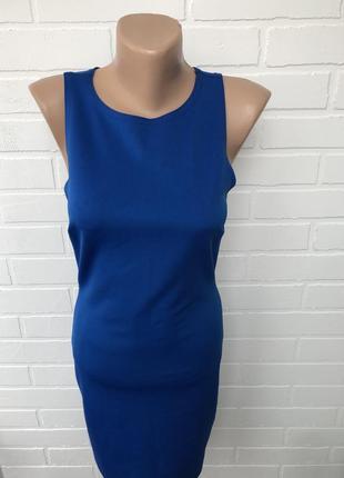 Эффективное синее платье / синя сукня