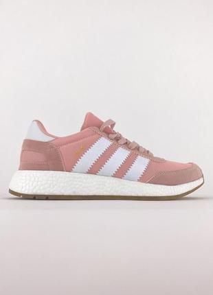 Женские кроссовки adidas iniki pink