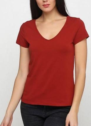 Женская футболка шведского бренда h&m  европа оригинал