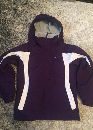 Зимняя лыжная куртка на 11-12 лет