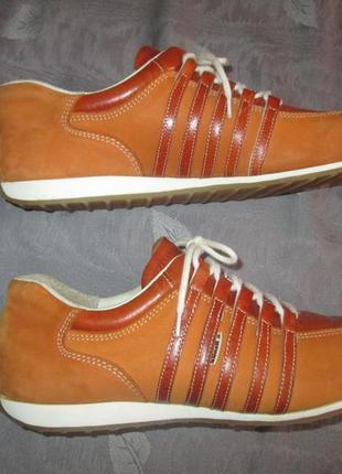Кожаные кроссовки kunzli swiss made