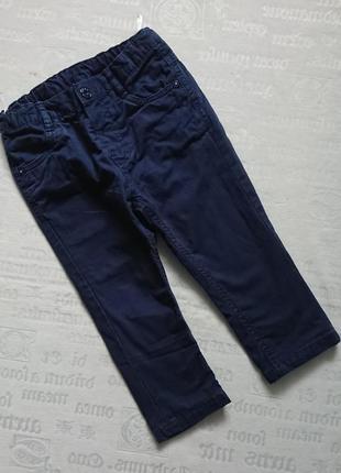 Модные штаны/джинсы на подкладке baby club c&a