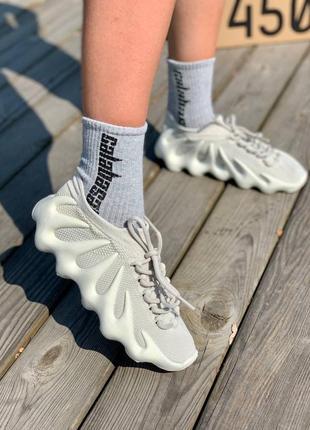 Женские adidas yeezy boost 450 'cloud white'