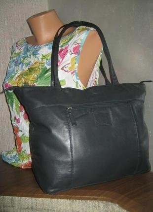 Rowallan 100% кожа сумка женская кожаная легкая на молнии