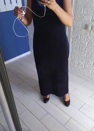 Вечерние  велюровое платья