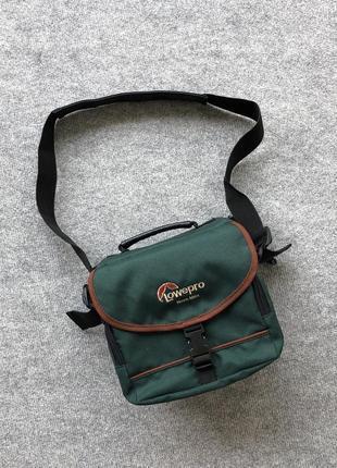 Туристична сумка lowepro nova mini green bag
