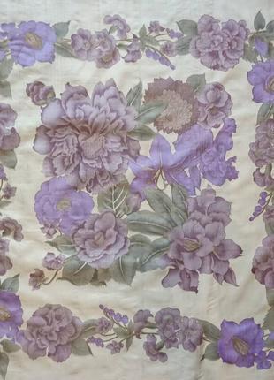 Кравивый шелковый платок тайский шелк