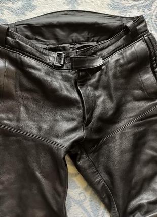 Штаны кожаные мото германия